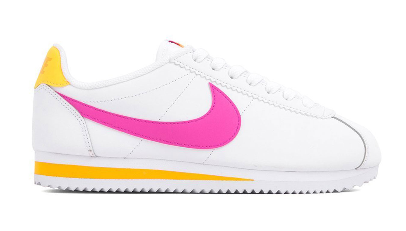 c4d4a2562d Weiß sneakers Nike WMNS Classic Cortez Leather - 85€ | 807471-112 ...