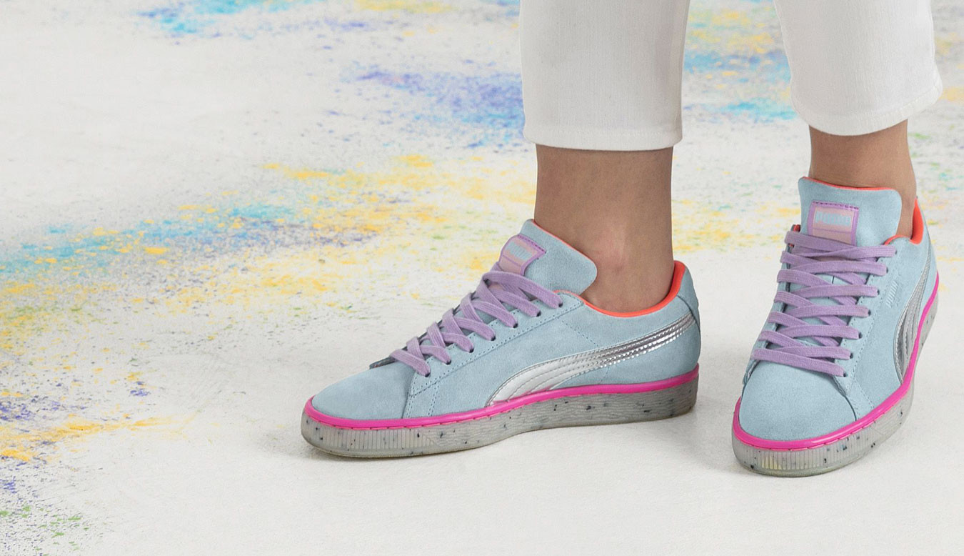 premium selection 9f0d5 d9872 PUMA x SOPHIA WEBSTER Suede Candy Princess