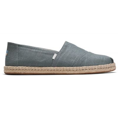 Toms Classic Bonsai Green Linen Rope