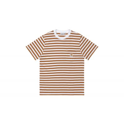 Carhartt WIP S/S Scotty Pocket T-Shirt Rum