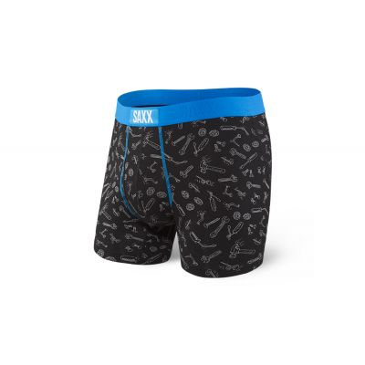 Saxx Ultra Boxer Brief Fly Black