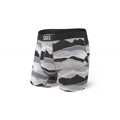 Saxx Vibe Boxer Brief Black