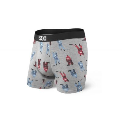Saxx Vibe Boxer Brief Grey Table Hockey