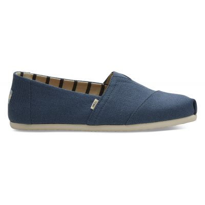 Toms Blue Canvas Men's Classics