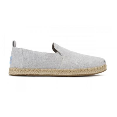 Toms Grey Deconstructed Alpargata