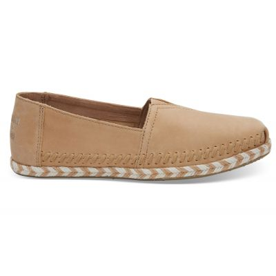 Toms Honey Leather Rope Alpargata