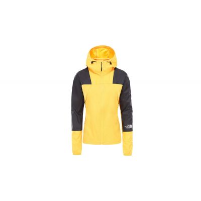 The North Face W Mountain Light Windshell Jacket Yellow